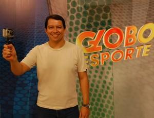 """Kako Marques, apresentador do """"Globo Esporte PB"""" (Foto: Expedito Madruga)"""