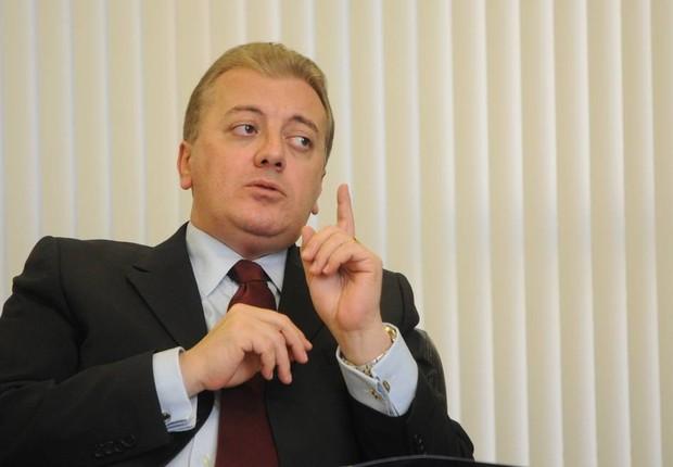 O ex-presidente do Banco do Brasil e da Petrobras Aldemir Bendine (Foto: Sergio Barzaghi/Agência O Globo)