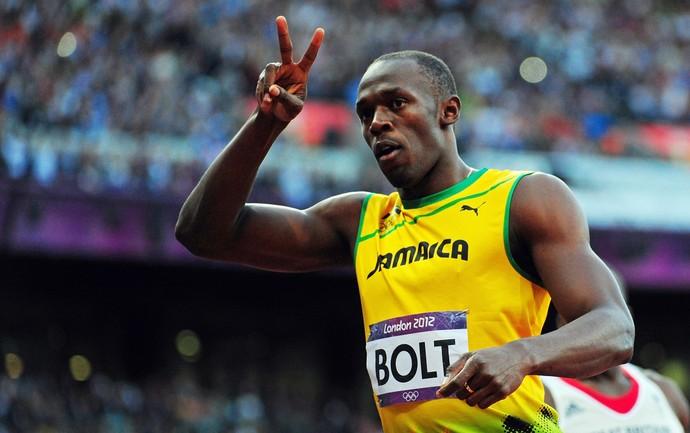 Usain Bolt 100m eliminatória corrida olimpíadas 2012 (Foto: Getty Images)