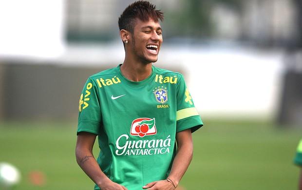 Neymar treino seleção brasileira em São Januário (Foto: Mowa Press)