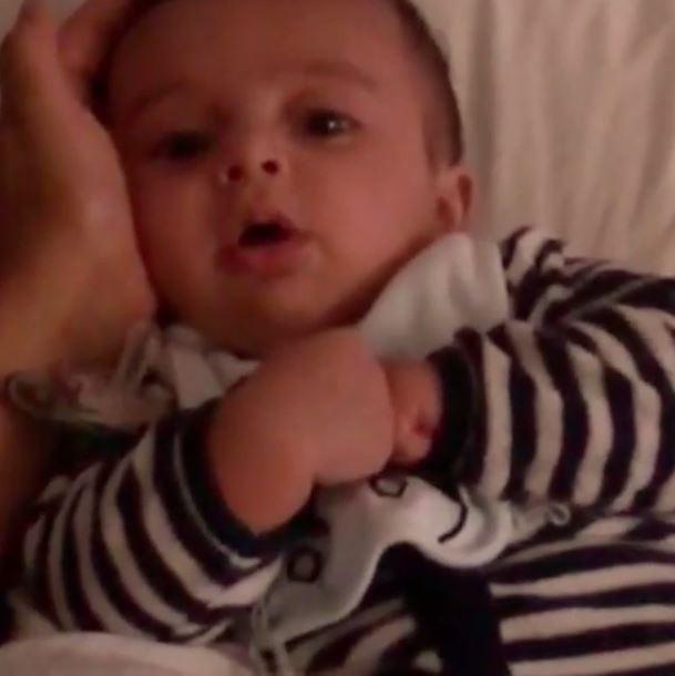 Jaque Khury posta vídeo do filho (Foto: Instagram / Reprodução)