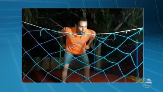 Homem quebra coluna ao dar cambalhota em pula-pula e sofre 11 paradas cardíacas; vídeo
