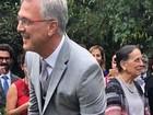 Famosos vão ao casamento de Pedro Bial e Maria Prata