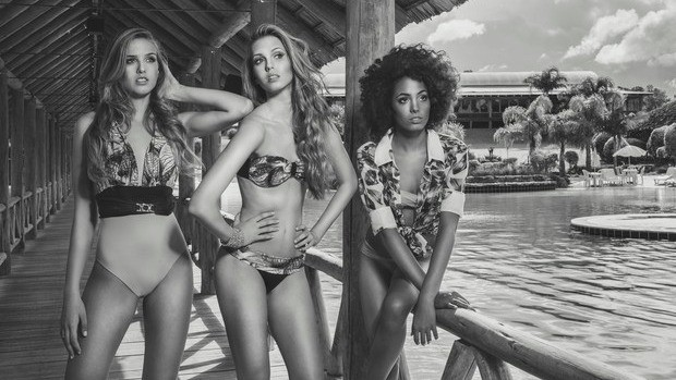 Marina Streit, Bianca Dewes e Nicole Santiago venceram edição de 2014 (Foto: Fernando Augusto/Divulgação)