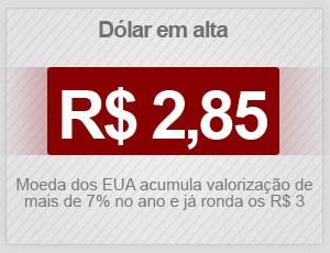dólar selo (Foto: G1)