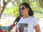 Família faz ato público em protesto ao desaparecimento de jovem na Paraíba