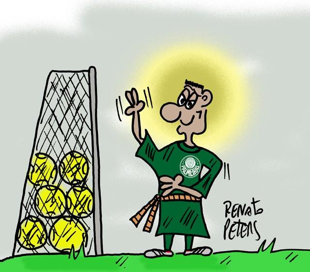 O milagre da multiplicação de gols-charge Peters
