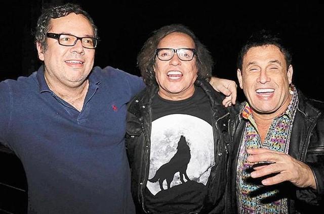 João Emanuel, Wolf e Sérgio Mallandro (Foto: Fred Pontes)