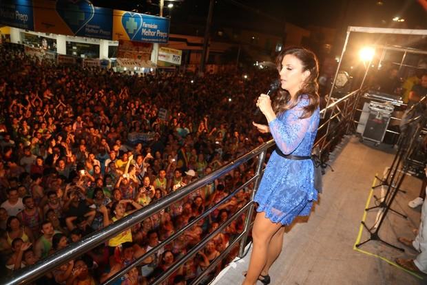 Ivete se apresenta no Pré-Caju (Foto: Fred Pontes- Divulgação)