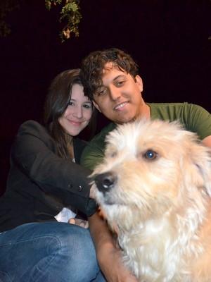 Bobby foi adotado pelo empresário que o encontrou (Foto: Fernanda Zanetti/G1)