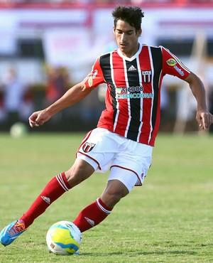 Gimenez, volante do Botafogo-SP (Foto: Thiago Calil / Agência Botafogo)