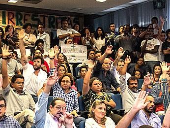 Por maioria, UnB decide manter cota racial em 5%. Decisão passa a valer no próximo vestibular. (Foto: Mariana Costa / UnB Agência)