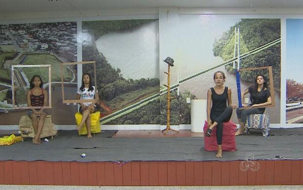 Ensaio da peça teatral (Foto: Reprodução/TV Amapá)