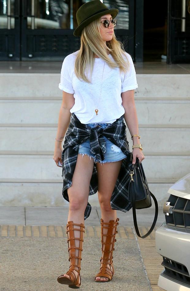 Ashley Tisdale (Foto: AKM-GSI Brasil)