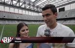 Atacante Pablo escolhe a Arena da Baixada para as suas fotos de casamento
