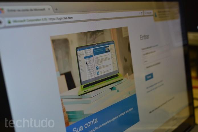 Live ID, da Microsoft, é o novo alvo de golpes na Internet; fique atento (Foto: Melissa Cruz / TechTudo)