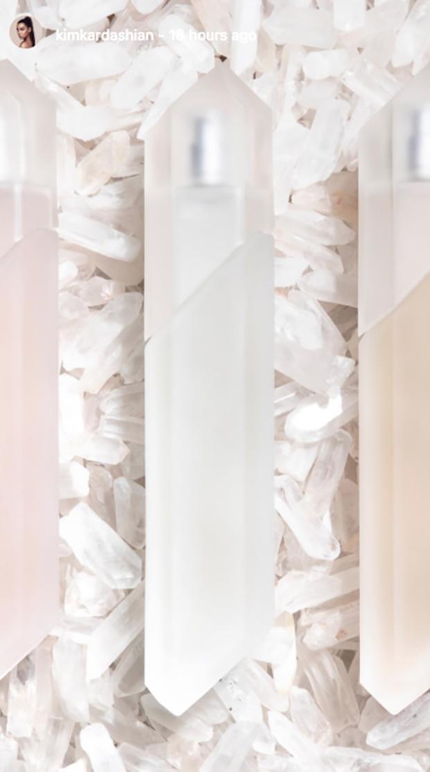 As três fragrâncias foram apresentadas aos convidados do chá de bebê (Foto: reprodução/instagram)