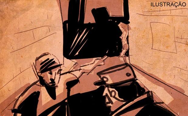 Idoso foi expulso de asilo após esconder prostituta debaixo da cama (Foto: Editoria de Arte/G1)
