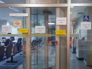 Bancários do Vale do Paraíba e região bragantina aderem à greve nacional (Foto: Nicole Melhado/ G1)