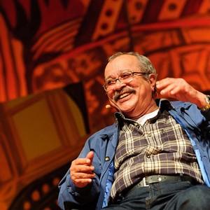 João Ubaldo Ribeiro na Flip de 2011 (Foto: Walter Craveiro/Flip)