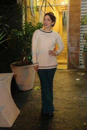 Sabrina Petraglia em festa na Zona Oeste do Rio (Foto: Daniel Pinheiro/ Ag. News)