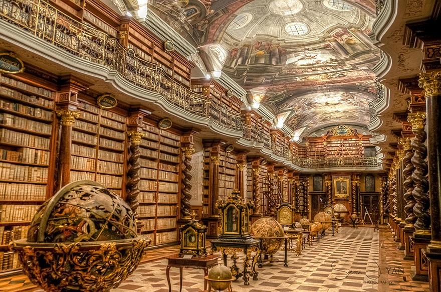 O Clementinum fica em Praga, República Tcheca (Foto: sean yan | reprodução)