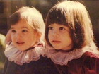 Kris Jenner posta foto de Kim e Kourtney Kardashian crianças