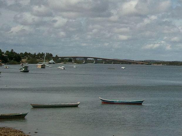 Ponte Joel Silveira que liga Aracaju a Itaporanga D'ajuda (Foto: Joelma Gonçalves/G1 SE)