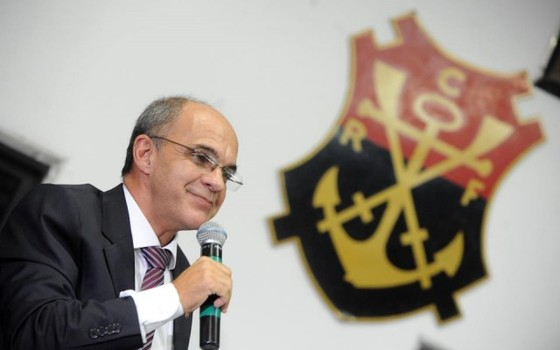 Eduardo Bandeira de Mello, presidente do Flamengo (Foto: Alexandre Vidal / Flamengo)