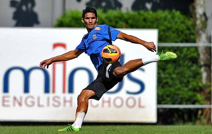 Durval, zagueiro do Santos (Foto: Ivan Storti/Divulgação Santos FC)