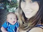 Pai babão, Justin Timberlake mostra o rostinho do filho em rede social