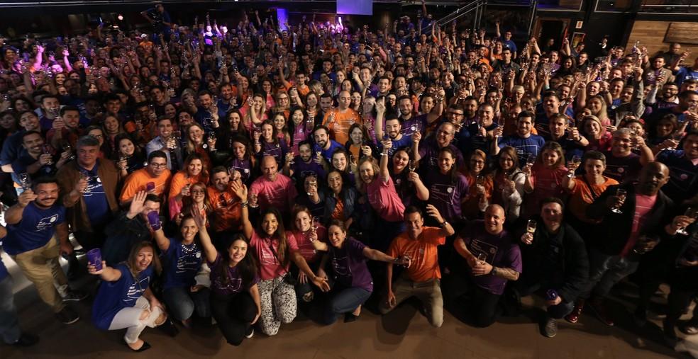 Evento apresentou mudanças ao colaboradores da NSC (Foto: José Luiz Somensi/Divulgação)