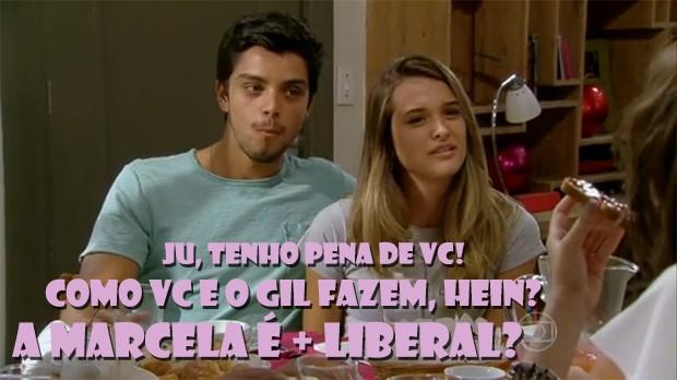 Fatinha não deixa passar... (Foto: Malhação / TV Globo)