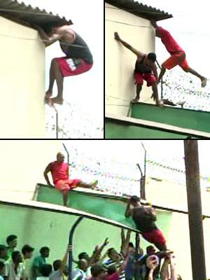 Presídio de Pedrinhas, no MA, tem nova tentativa de fuga (Foto: Reprodução/GloboNews)