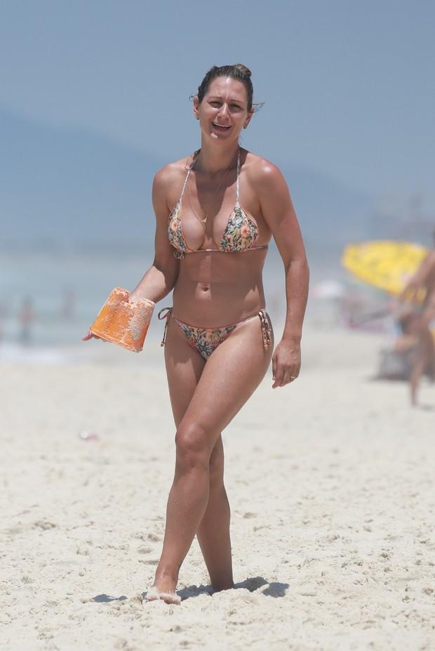 Mulher de Mario Frias  (Foto: Dilson Silva / Agnews)