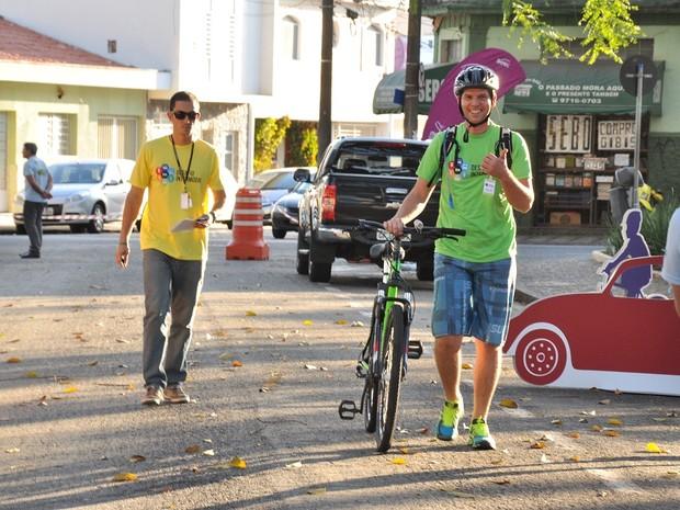 A bicicleta venceu os desafios de 2013 e 2014 (Foto: Divulgação/Urbes)