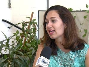 A pesquisadora Mariana Martini, autora do estudo sobre excesso de peso em Campinas (Foto: Reprodução / EPTV)