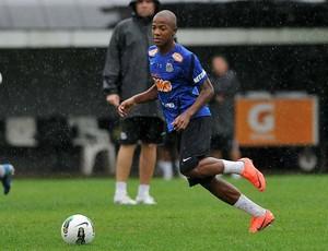 Victor Andrade treino Santos (Foto: Ivan Storti/Divulgação Santos FC)