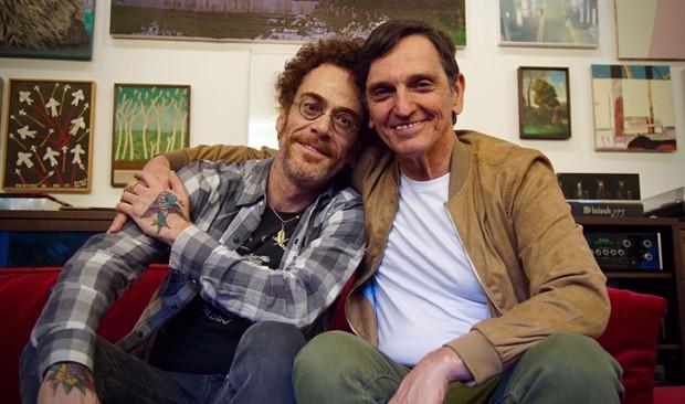 Nando Reis e Paulo Miklos (Foto: Divulgação)