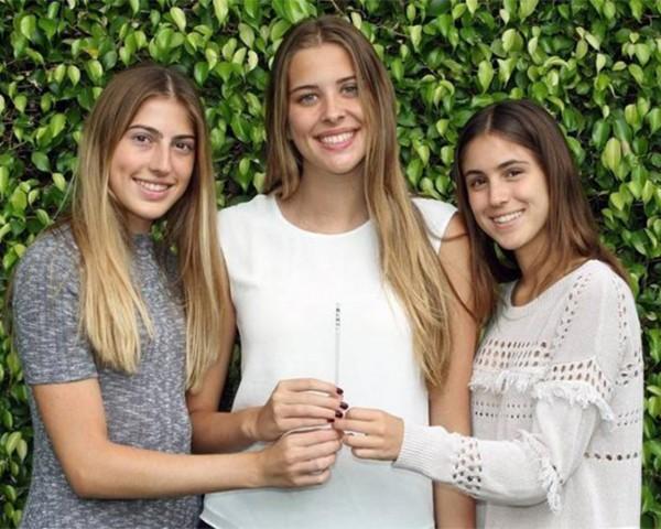 """Victoria Roca, Susana Cappello e Carolina Baigorri criaram um canudo """"anti-estupro"""" (Foto: Reprodução)"""