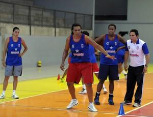 Maranhão Basquete intensifica os treinos físicos (Foto: Divulgação/Biaman Prado)