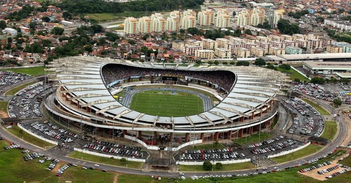 Mangueirão - vista aérea (Foto: Cristino Martins/O Liberal)