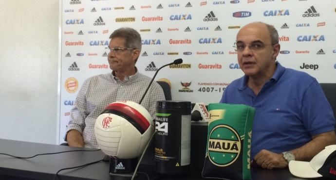 Oswaldo entrevista Flamengo (Foto: Ivan Raupp)