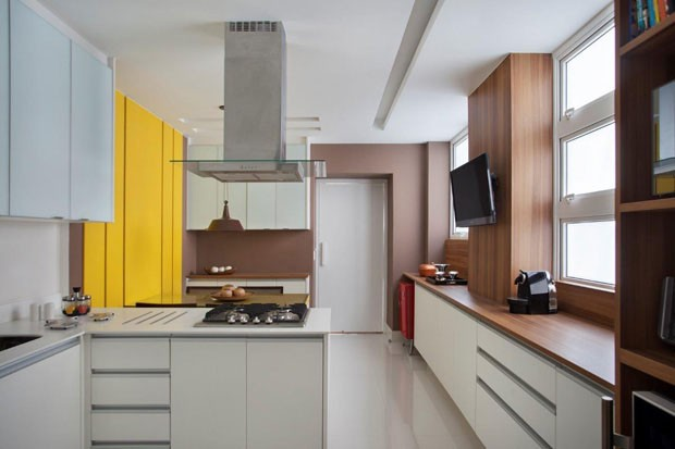 Apartamento no Flamengo (Foto: Denílson Machado/MCA Estúdio/D)