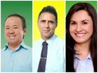 Candidatos a prefeito votam durante a manhã de domingo, 2, em Vilhena