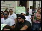 Pacientes protestam e denunciam falta de sonda urinária, em Belém
