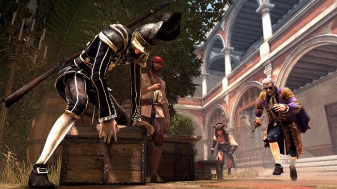 Modo Man Hunt em Assassins Creed IV: Black Flag (Foto: Divulgação)