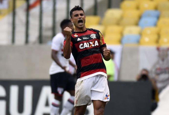 Ederson Flamengo x São Paulo (Foto: André Durão / GloboEsporte.com)