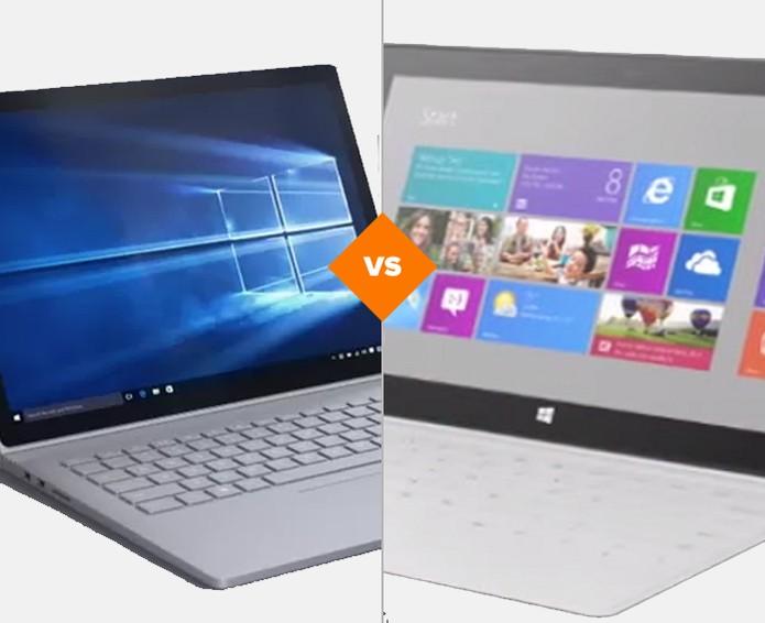 Vale a pena comprar o Surface Book ou o Surface Pro 4? (Foto: Arte/TechTudo)