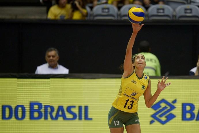 Sheilla Brasil Holanda Vôlei Feminino Maracanãzinho Copa Rio (Foto: CBV / Divulgação )